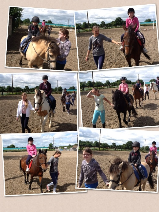 Childrens Pony Camp Montage