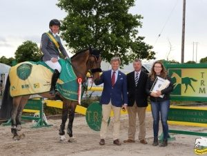 Clem McMahon New Heights Mullingar CSI2* International Grand Prize Winner TRM Horseware Showjumping Ireland
