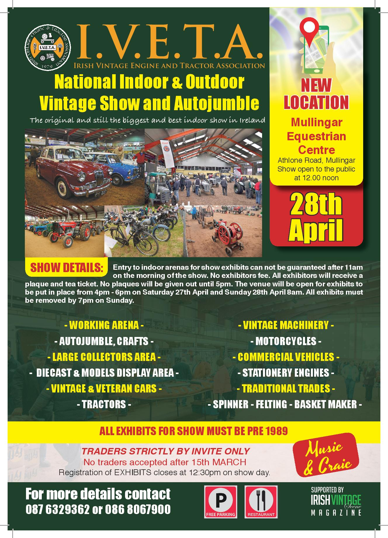 Irish Vintage Engine & Tractor Association National Show