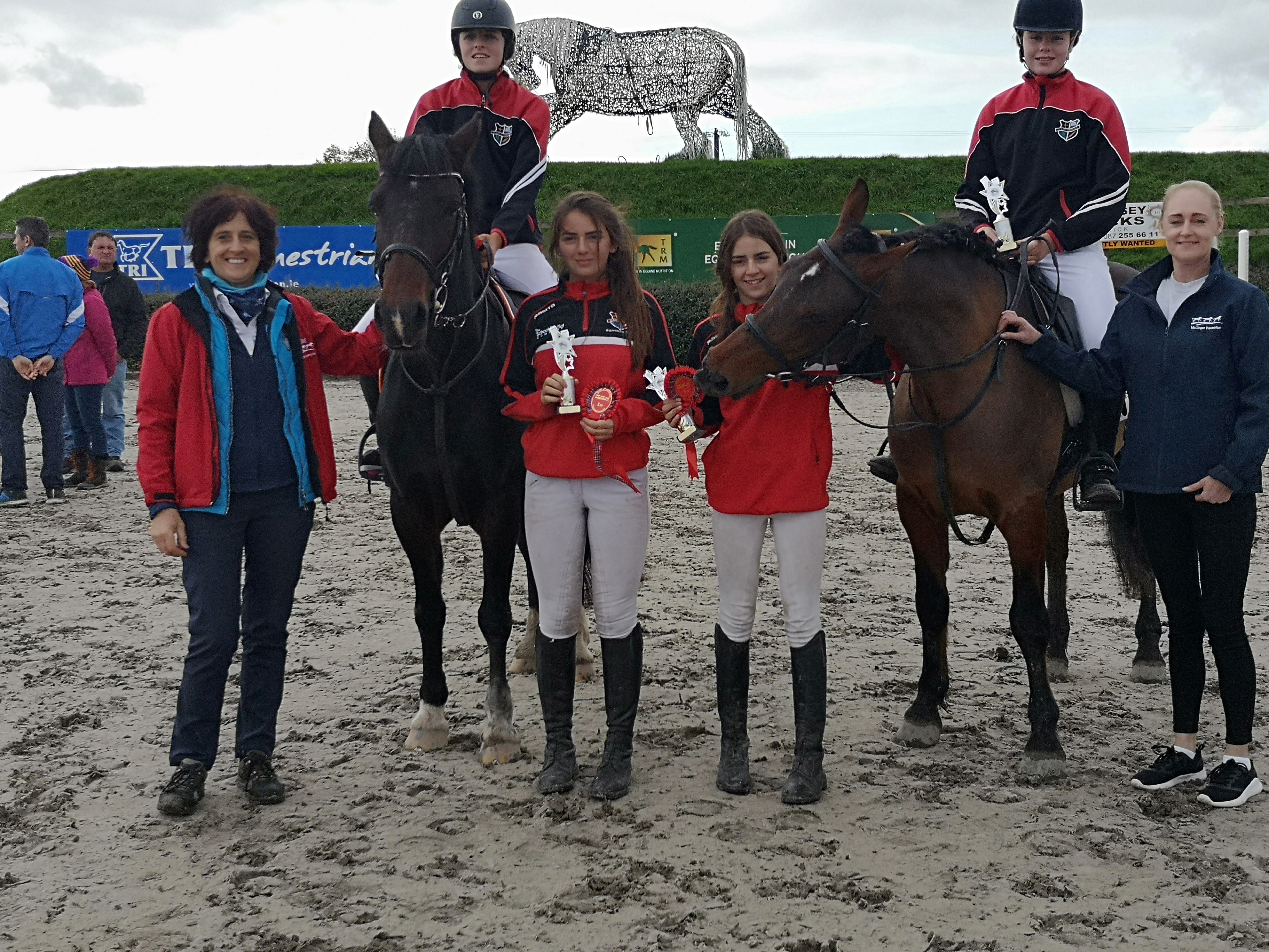 Schools Show Jumping Event Results