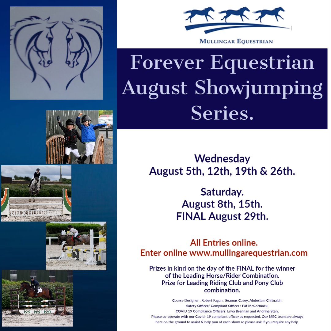 Forever Equestrian August SJ Series